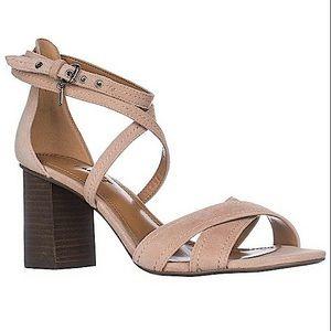 Coach Phoebe Strappy Block Heel Sandal